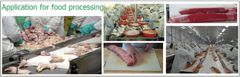 Application for food processing